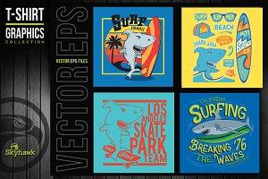 Vectors graphics for t shirt print