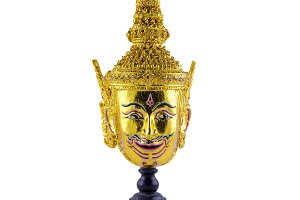 Khon, Thai ramayana mask