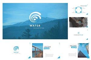 Water Keynote Template