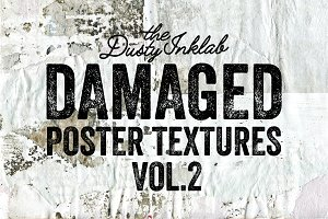 Damaged Poster Textures Vol. 2