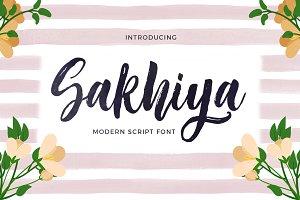 Sakhiya Script