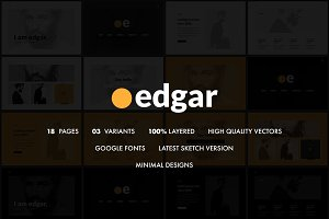 Edgar Creative Sketch Template