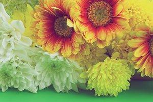Flowers - vintage photo
