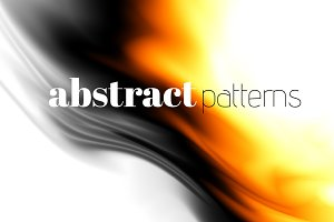 45 white abstract patterns