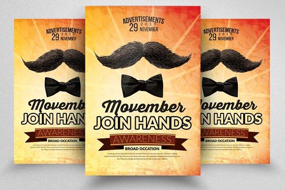 Movember  Flyers