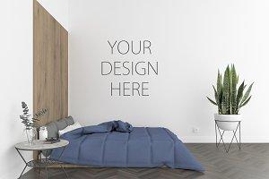 Bedroom - wall art gallery mockup