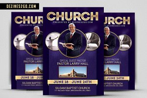 The Church Flyer Template Psd