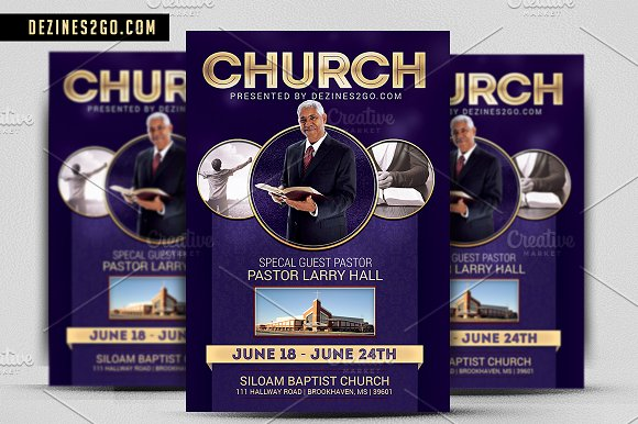 the church flyer template psd flyer templates creative market