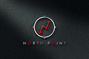 N North Point logo (+6 colors)