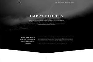DUNE-Creative Bootstrap Template