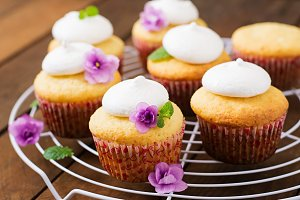 Cottage cheese cupcakes
