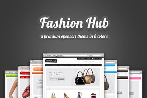 Fashion Hub Premium Opencart Theme