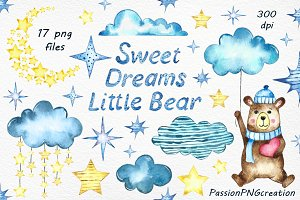 Sweet Dreams Clip Art