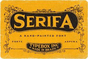 Serifa Typeface