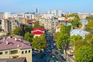 Bucharest street, Romania