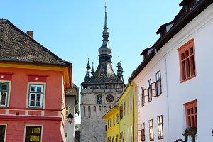 Clock Tower of Sighisoara.Romania
