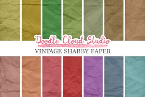 Vintage Shabby digital paper