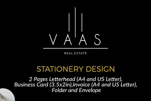 Stationery and Logo VAAS included