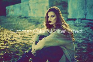Summer Colorful Filter Effect