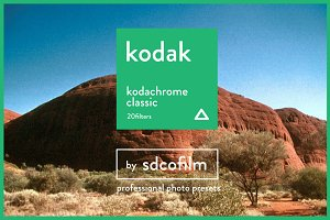 Kodak Kodachrome Film-LR & Photoshop