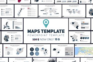 MAPS Template PowerPoint