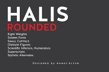 rounded sans serif