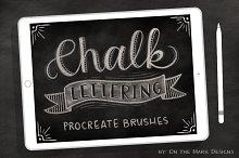 5 Chalk Lettering Procreate Brushes