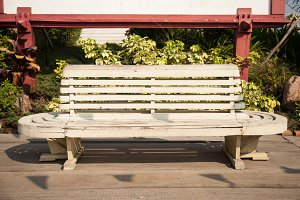 Old bench.