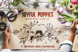 Joyful Poppies