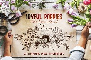 Joyful Poppies