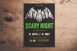 Scary Night Flyer