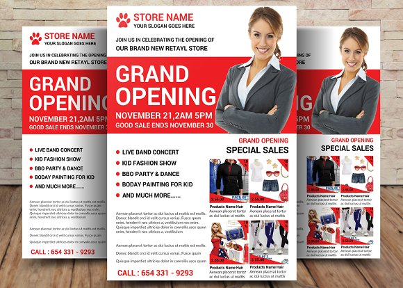 Product Business Flyer