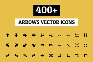 400+ Arrows Vector Icons