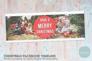 HC025 Christmas Facebook Timeline