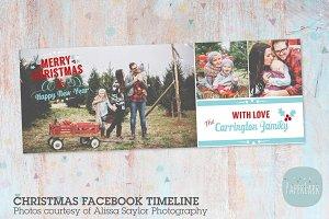 HC014 Christmas Facebook Timeline