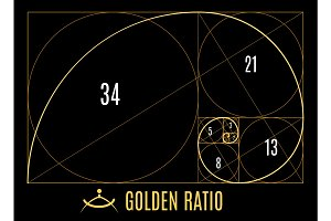 Golden proportions ratio guidelines