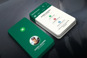 Whatsapp Business Card