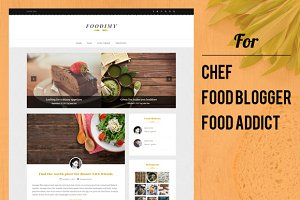 Foodimy - Food Blogger WP Theme