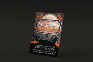 Halloween Trick or Treat PSD