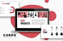 CORPO Business Powerpoint Template