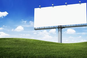 advertisement board (PNG)