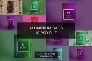 Aluminium Bag 10 PSD Pack