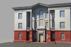 Classic building facade 04