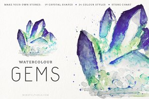 Watercolor Gem Creator