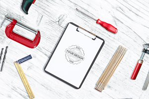 Work Tools Mock-up Pack #2