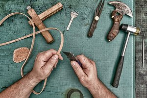 Leather artisan craftsman manufactur