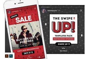 SWIPE UP Instagram Stories Pack