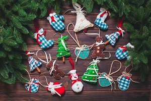 Christmas vintage decor