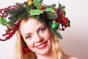 Stylish Christmas headdress