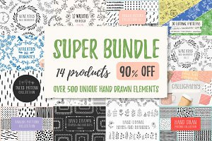 SUPER SALE Bundle - 90% off!